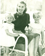 Susan Bent Drake and Daughters - - Click for a Larger View